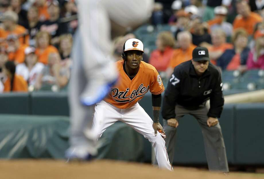 Jemile Weeks spent three seasons with the A's before joining the Orioles this year. He stole 38 bases in the 223 games he played for Oakland. Photo: Patrick Semansky, Associated Press