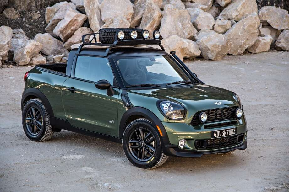 Mini Cooper Houston >> Mini Cooper S New Tiny Truck Is Awesome Houston Chronicle