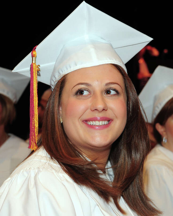 Graduation Commencement Exercises for the Bridgeport Hospital School of Nursing Classes of May 2014 and Decmeber 2013, held at Quick Center for the Arts on the campus of Fairfield University, April 28, 2014. Photo: Ned Gerard / Connecticut Post
