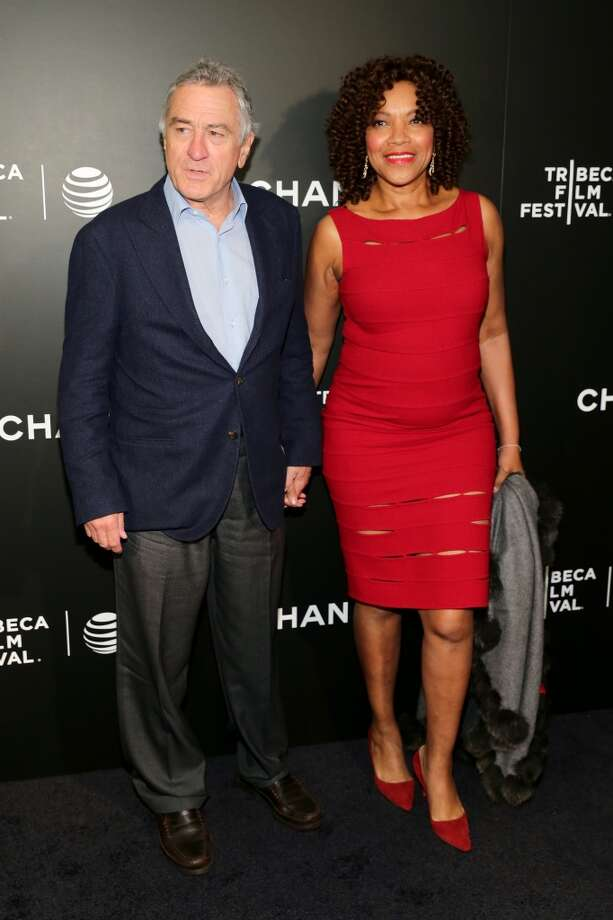 "NEW YORK, NY - APRIL 26: Tribeca Film Festival Co-founder Robert De Niro and Grace Hightower attend the ""Begin Again"" Closing Night Premiere during the 2014 Tribeca Film Festival at BMCC Tribeca PAC on April 26, 2014 in New York City. Photo: Neilson Barnard, Getty Images For The 2014 Tribeca Film Festival"