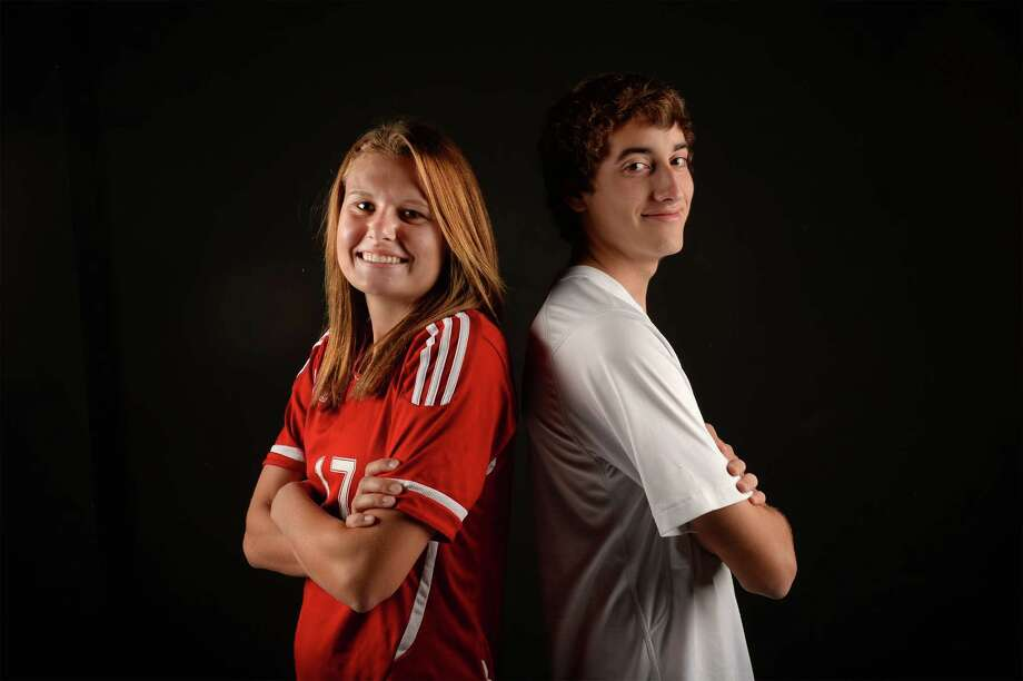 Lumberton's Shannon Flowers and Port Neches-Groves' Mason Stewart are soccer's 2014 Super Gold athletes
