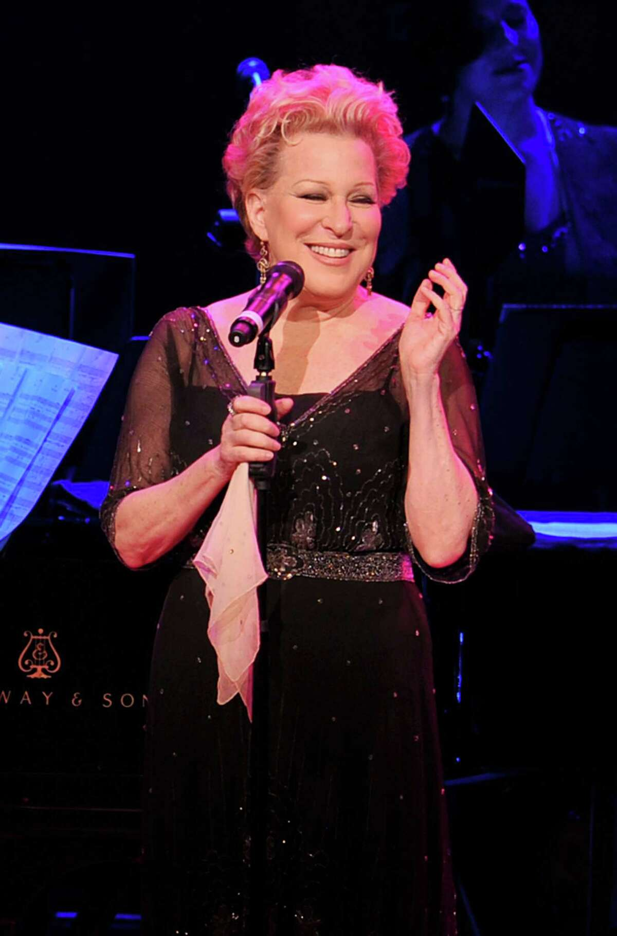 Singer Bette Midler performs onstage at the 120th Anniversary of Carnegie Hall on April 12, 2011 in New York City.