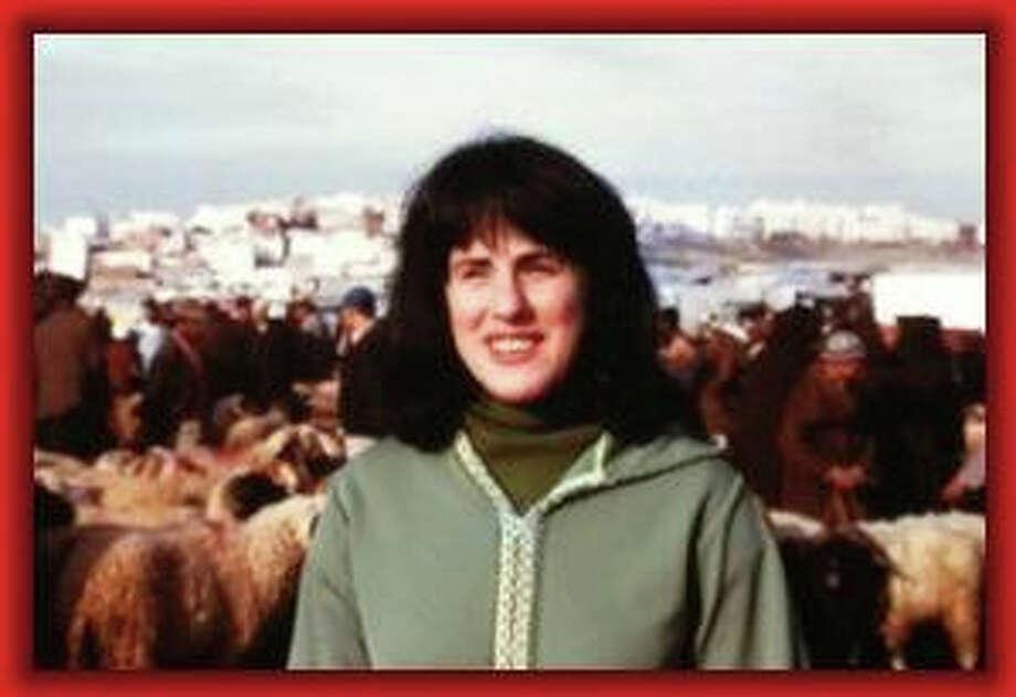 Paula Wolfert is seen in 1971 outside of her home in Morocco. Photo: Courtesy Of Paula Wolfert / ONLINE_CHECK