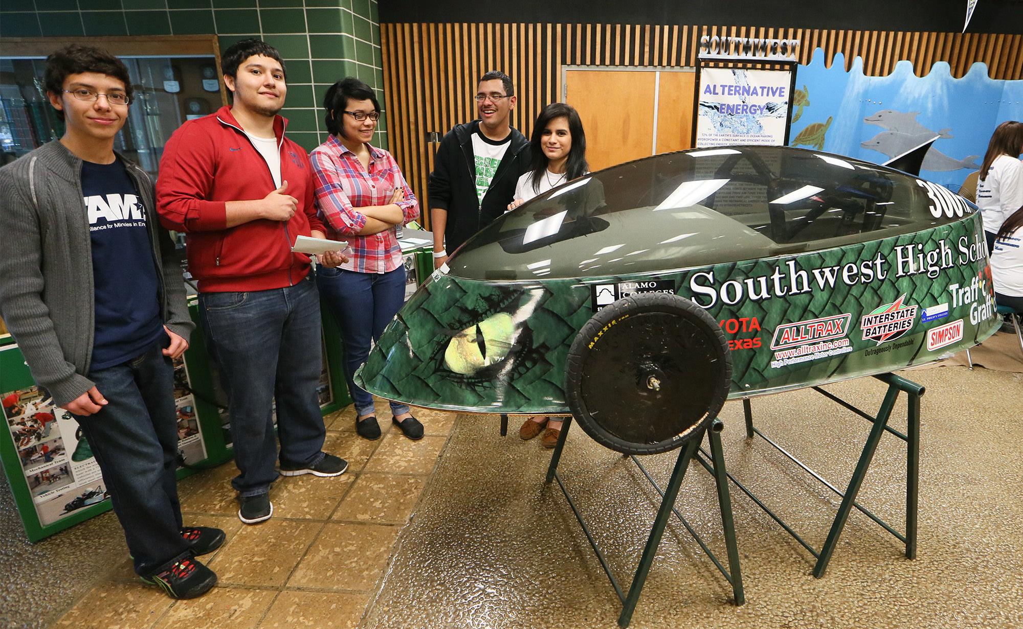 Southwest Dragons win Electrathon San Antonio Express News