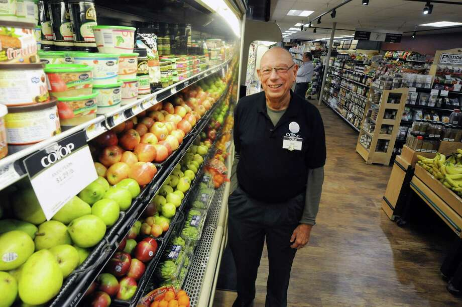 Don Bisgrove, general manager of the Niskayuna Co-Op, poses for a photograph at the co-op Monday, April 28, 2014, in Schenectady, N.Y.  Bisgrove is retiring after 38 years leading the Niskayuna Co-Op.  (Paul Buckowski / Times Union) Photo: Paul Buckowski / 00026598A
