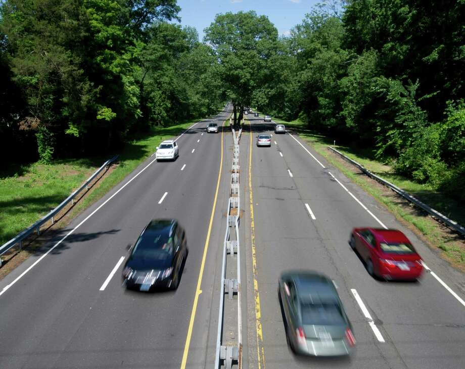 The Merritt Parkway on Wednesday, June 19, 2013. Photo: Lindsay Perry / Stamford Advocate