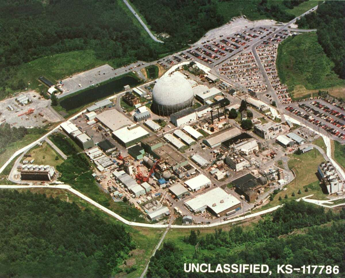 Unclassified hand out photo of Kesselring nuclear reactor site in West Milton NY, 1996. (NYS Division of Military and Naval Affairs)