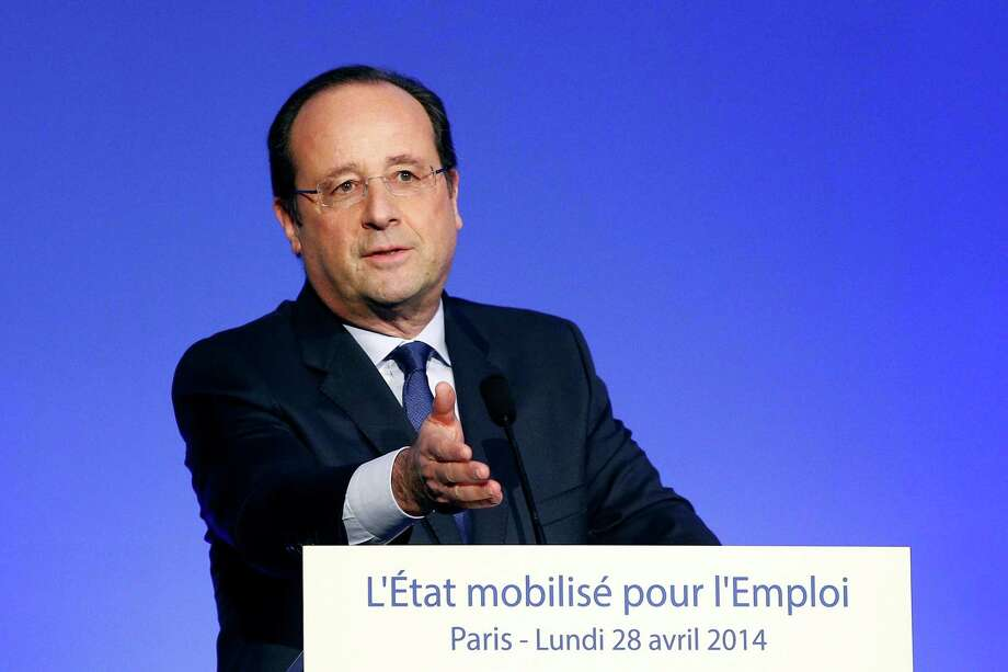 Francois Hollande is involved in talks on a proposed merger of Alstom with GE or Siemens. Photo: POOL / X80003