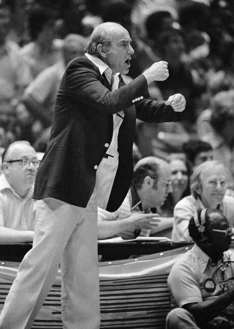 """Dr. Jack"" Ramsay was known for his colorful attire when he was coaching the Portland Trail Blazers. Photo: Associated Press / AP"