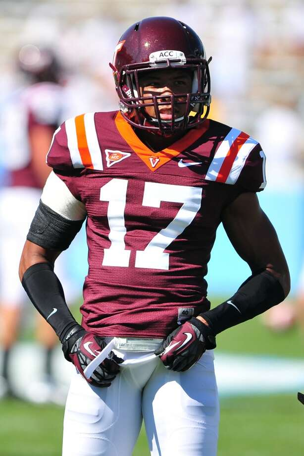Kyle Fuller, CB, 6-0, 190, 4.49, Virginia TechMissed the last six games and the Senior Bowl after undergoing surgery for a sports hernia. A physical corner with the speed, quickness, instincts and intelligence to play man or zone coverage. Can play inside or outside. Should be selected in the first round. Photo: Lance King, Getty Images