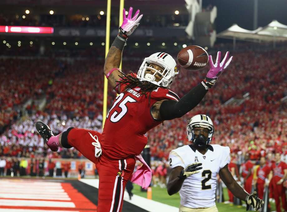Calvin Pryor, FS, 5-11, 207, 4.58, Louisville   He can play free or strong safety. He's the hardest-hitter among the top prospects in the secondary. Might be best suited around the line of scrimmage because he likes contact. A sure tackler. Sound fundamentals for a player at his position. Should be selected in the first round. Photo: Andy Lyons, Getty Images