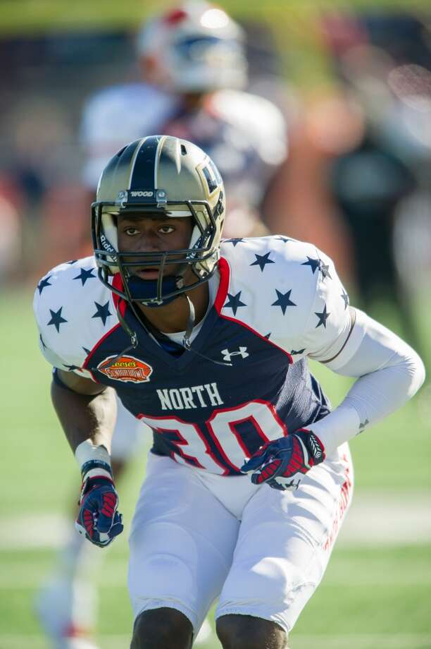 Sleeper  Pierre Desir, 6-1, 198, 4.59, Lindenwood  Good size, athleticism and toughness. Plays faster than his 40 time. Began college career at Washburn before transferring. Natural athlete who got a lot of recognition at the East-West Shrine Game and Senior Bowl. Should be selected in the third round. Photo: Michael Chang, Getty Images
