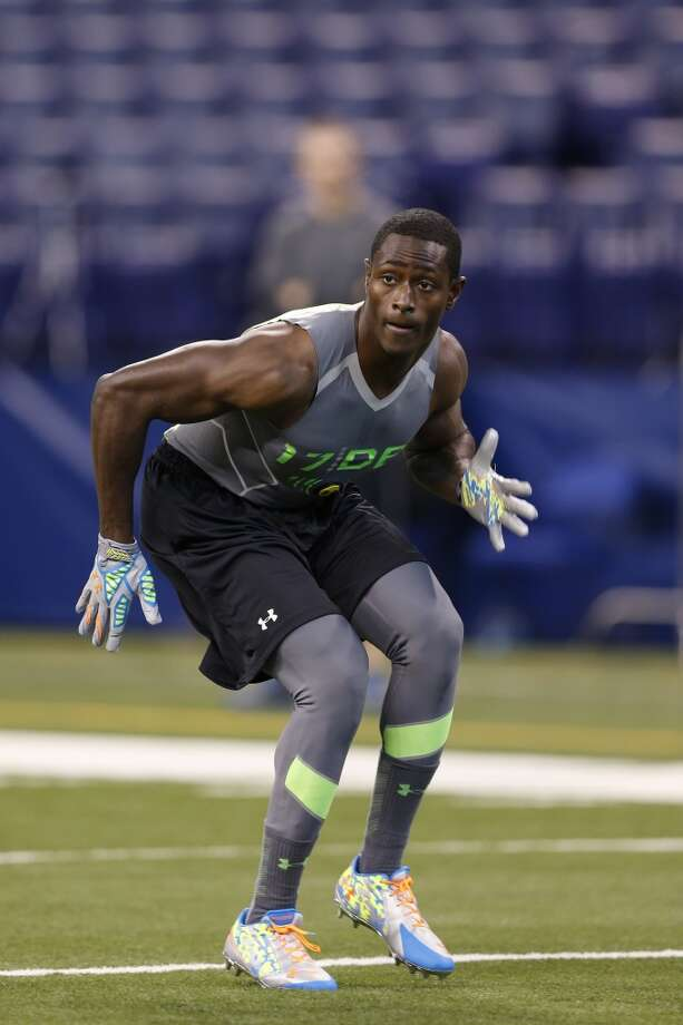 Notable  Pierre Desir was born in Haiti and moved to the U.S. when he was 4. He threw up playing soccer before switching to football. He was a standout in both sports. Photo: Joe Robbins, Getty Images