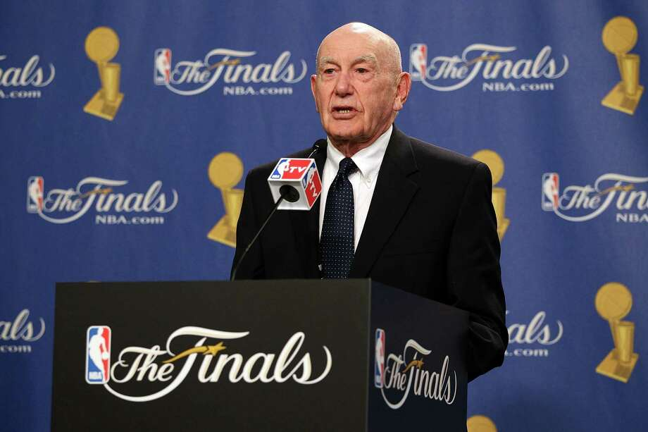 FILE - APRIL 28, 2014: It was reported that Hall of Fame Coach Jack Ramsay died  following a long battle with cancer at 89. LOS ANGELES, CA - JUNE 06:  Former coach Dr. Jack Ramsay receives the 2010 Chuck Daly Lifetime Achievement Award before Game Two of the 2010 NBA Finals between the Boston Celtics and the Los Angeles Lakers at Staples Center on June 6, 2010 in Los Angeles, California. NOTE TO USER: User expressly acknowledges and agrees that, by downloading and/or using this Photograph, user is consenting to the terms and conditions of the Getty Images License Agreement  (Photo by Christian Petersen/Getty Images) Photo: Christian Petersen, Staff / 2010 Getty Images