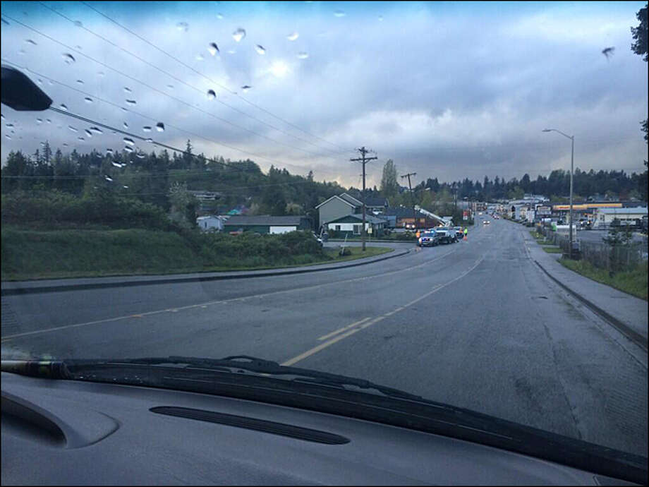 The Weather Service has ruled that a tornado struck Eatonville during Sunday's storm.