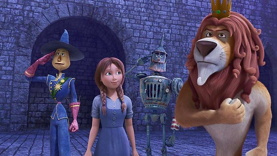 "Take the kids to see ""Legends of Oz: Dorothy's Return"" starring Glee's Lea Michele. The film opens Friday. Watch: Lea Michele talks about voicing Dorothy. Photo: Clarius Entertainment"