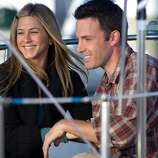 Jennifer Aniston and Ben Affleck play a couple, but he's just not that into getting married. A pleasant, airy romantic comedy with a strong cast. 'He's Just Not Into You.""