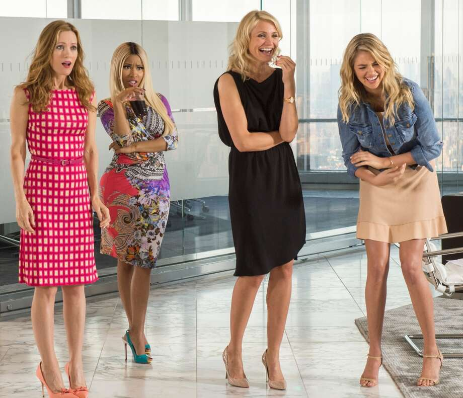 THE OTHER WOMAN, now in theaters, would be just fine on a plane. Photo: Barry Wetcher, Associated Press