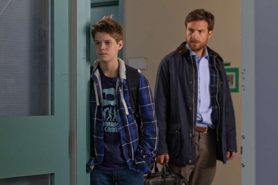 Colin Ford, left, and Jason Bateman in a scene from 'Disconnect.' One of the better movies of 2013. Photo: Phil Bray, Associated Press