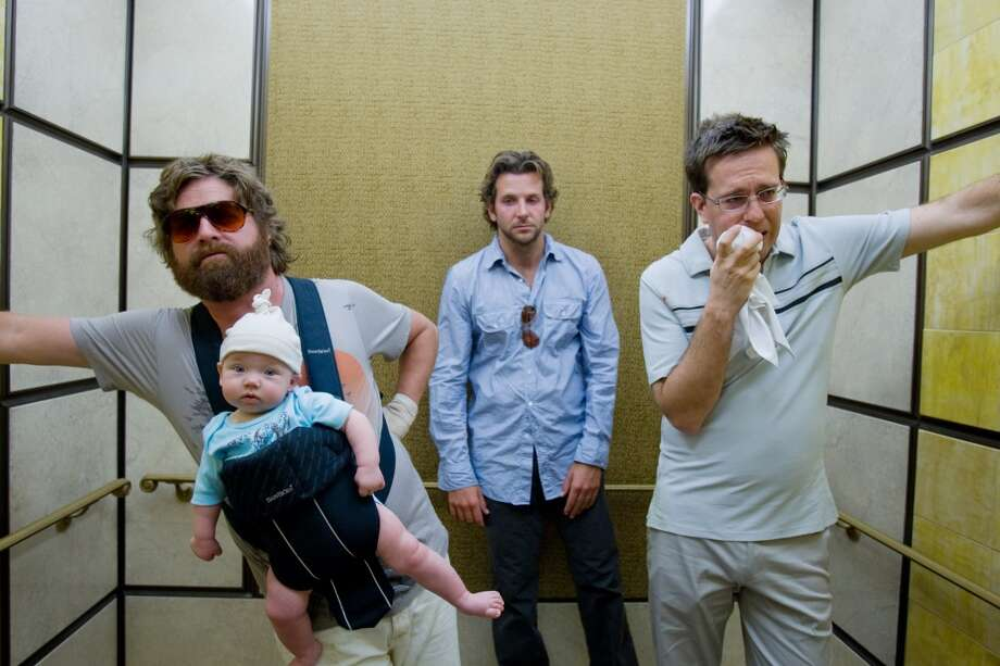 'The Hangover.'  The first one.  Not the second, and not the third. Photo: Frank Masi, AP