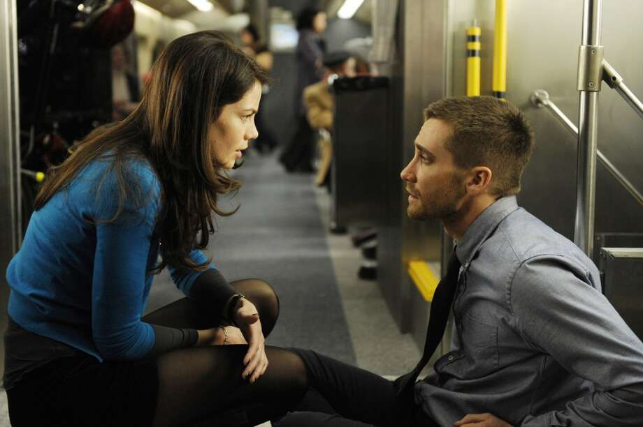 Michelle Monaghan and Jake Gyllenhaal in a scene from 'Source Code.' Photo: Jonathan Wenk, AP