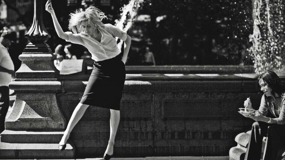 Greta Gerwig in 'Frances Ha,' the most airplane friendly of Noah Baumbach's movies. Photo: IFC Films