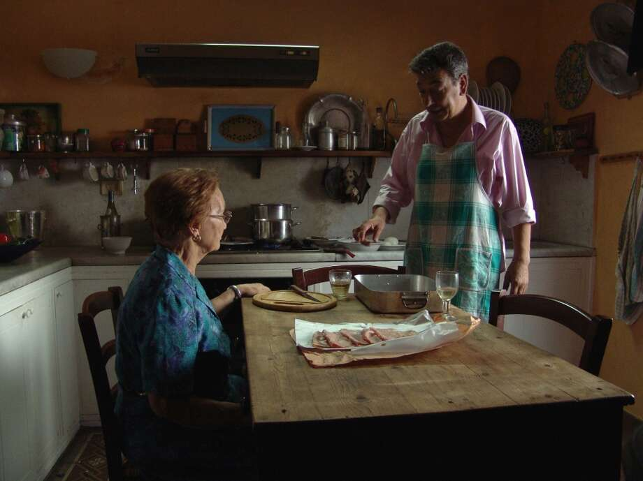 A scene from Gianni Di Gregorio's  'Mid-August Lunch.'  Simple, warm, easy to follow and rewarding. Photo: Zeitgeist Films