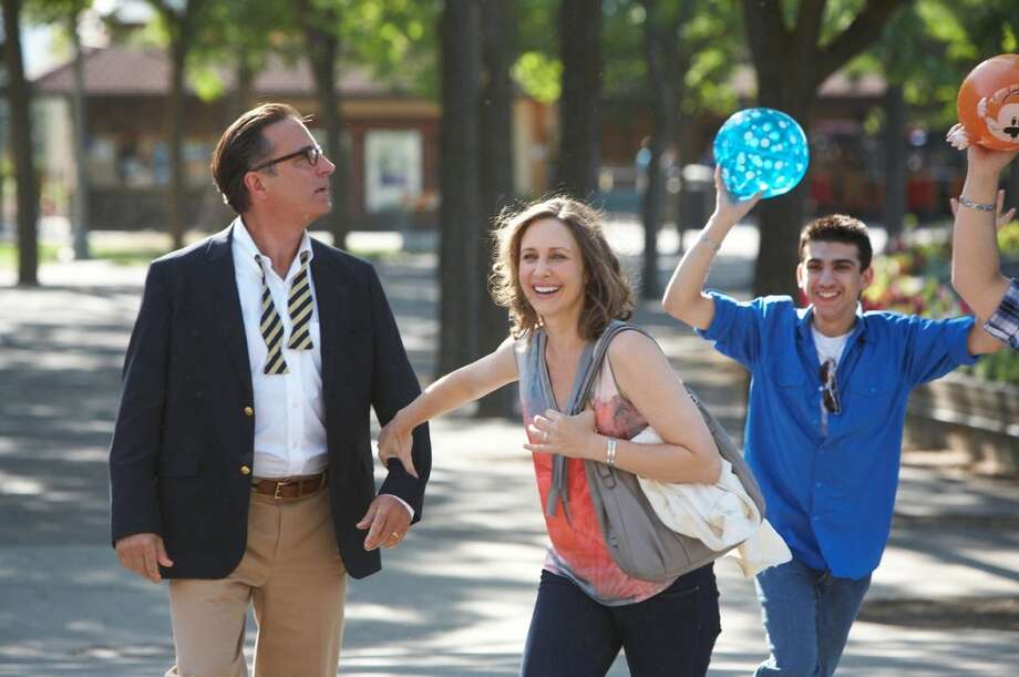 Andy Garcia and Vera Farmiga in At Middleton.  This came and went -- see it on a plane. Photo: Anchor Bay Entertainment