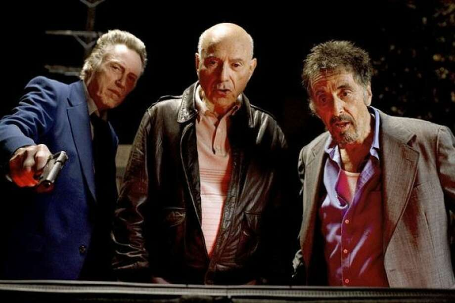 Christopher Walken, Alan Arkin and Al Pacino in 'Stand Up Guys.' Underrated, neglected movie, but a real delight. Photo: LIonsgate, ONLINE_YES / ONLINE_YES