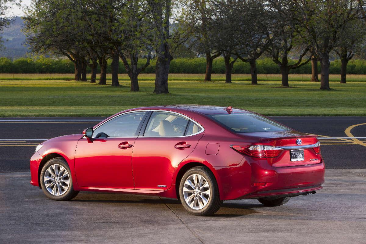 9. Lexus ES 300h MSRP: Starting at $39,500 Source: KBB.com
