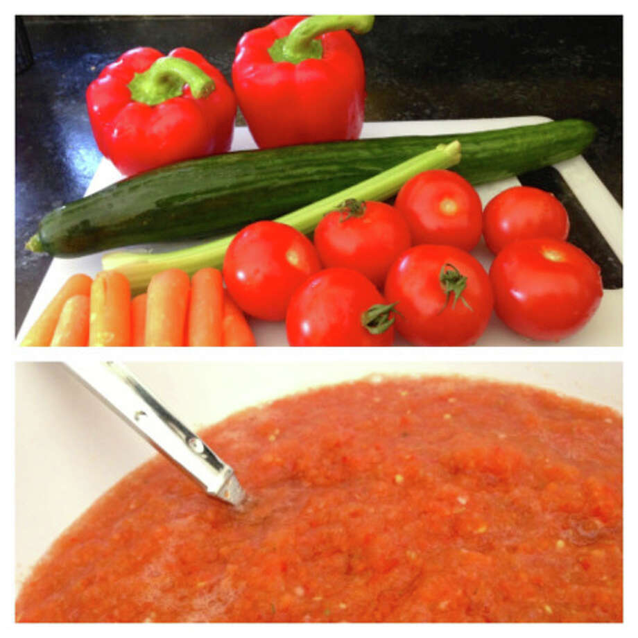 Our food writer explains how to make healthy, delicious gazpacho. Photo: Contributed Photo, Contributed / New Canaan News Contributed