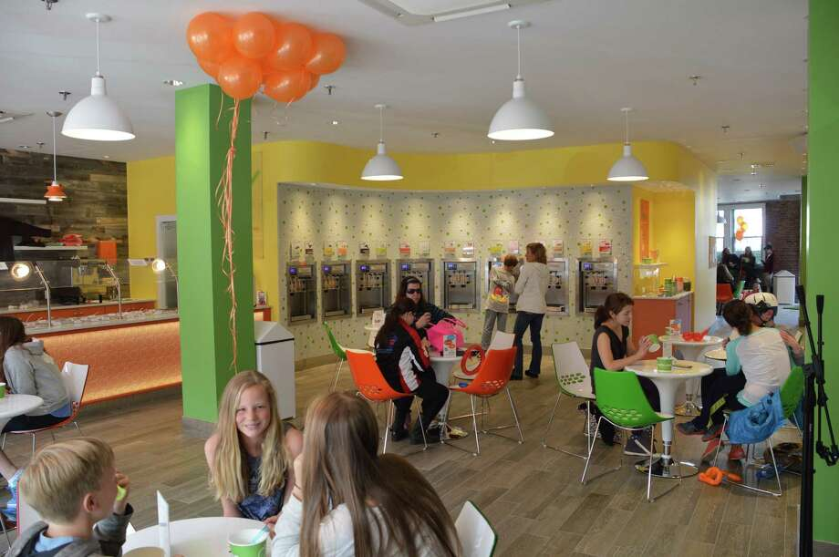 A Peachwave self-serve frozen yogurt franchise has opened at 11 Forest St. in New Canaan. Jarret Liotta/For the New Canaan News Photo: Contributed / New Canaan News Contributed
