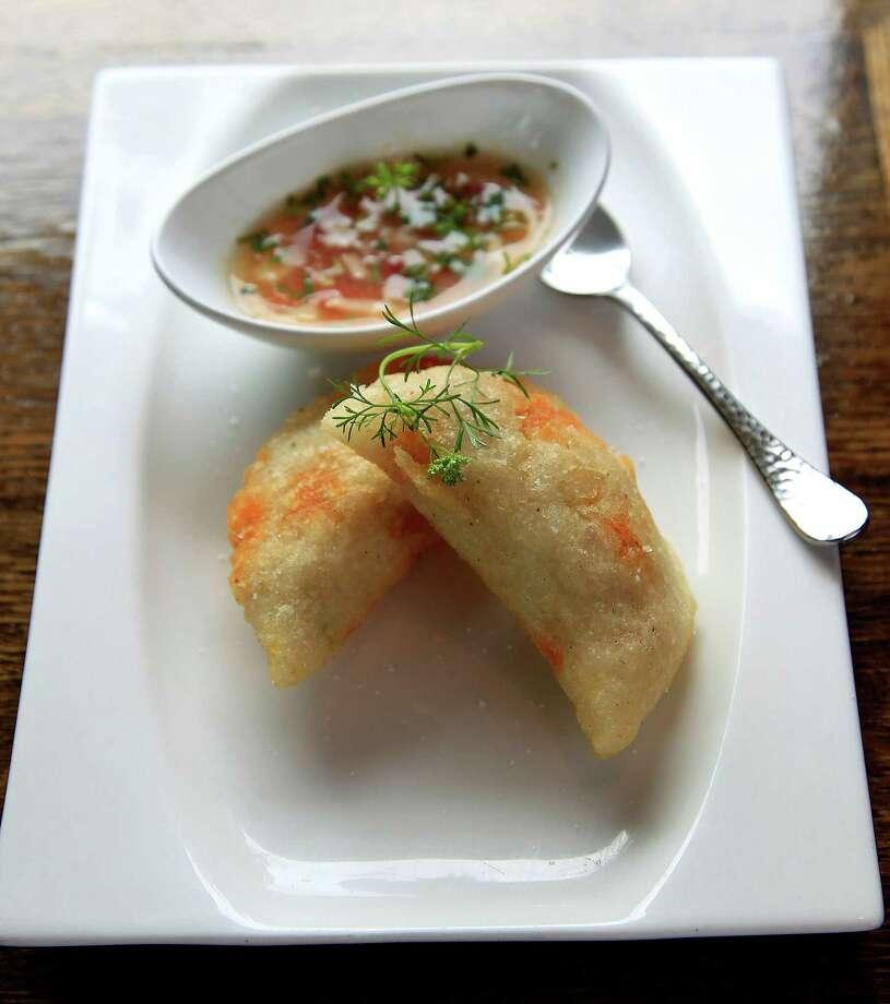 Empanada de Morocho at Andes Cafe Photo: Karen Warren, Staff / © 2014 Houston Chronicle
