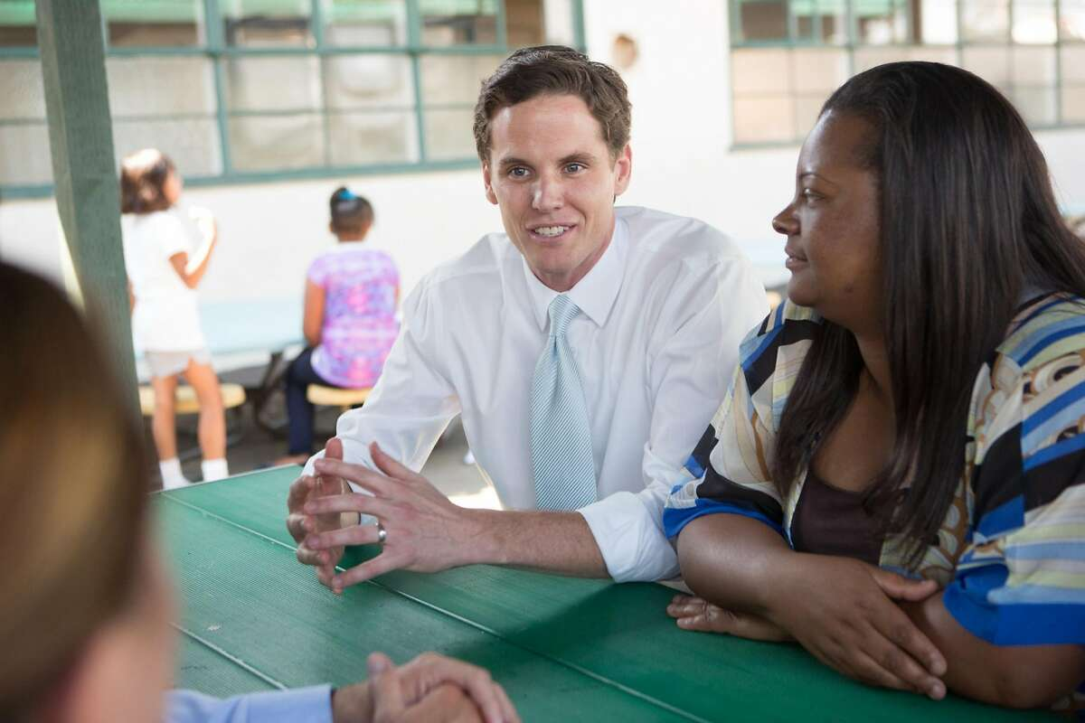Marshall Tuck, a candidate for state superintendent of public instruction,made a name for himself in Los Angeles turning around high-poverty, low-performing charter schools.