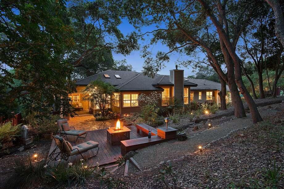 The house has a parklike backyard. Photo: OpenHomesPhotography.com
