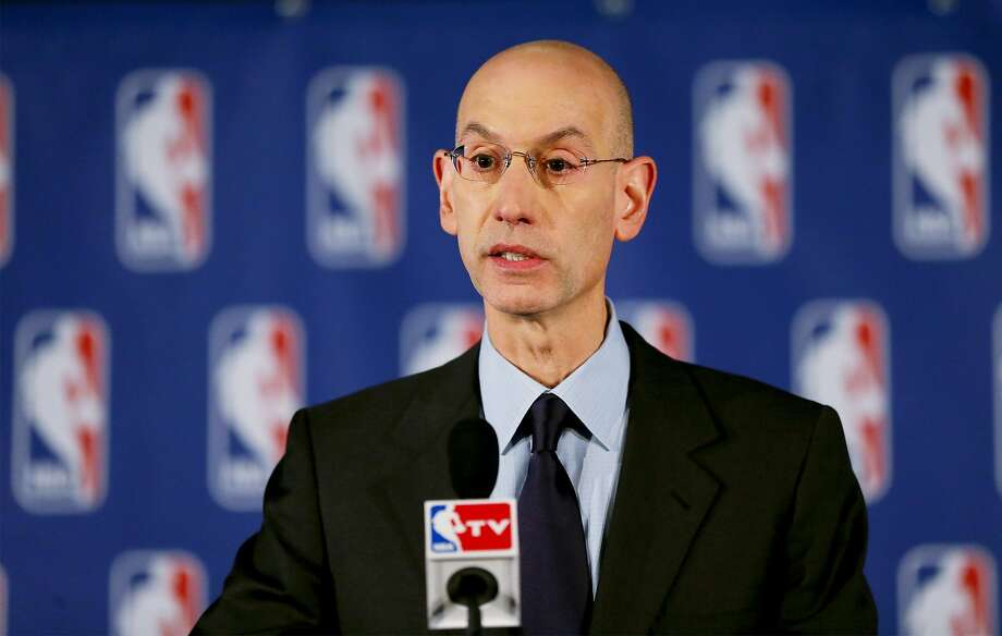 NBA Commissioner Adam Silver Photo: Elsa, Getty Images