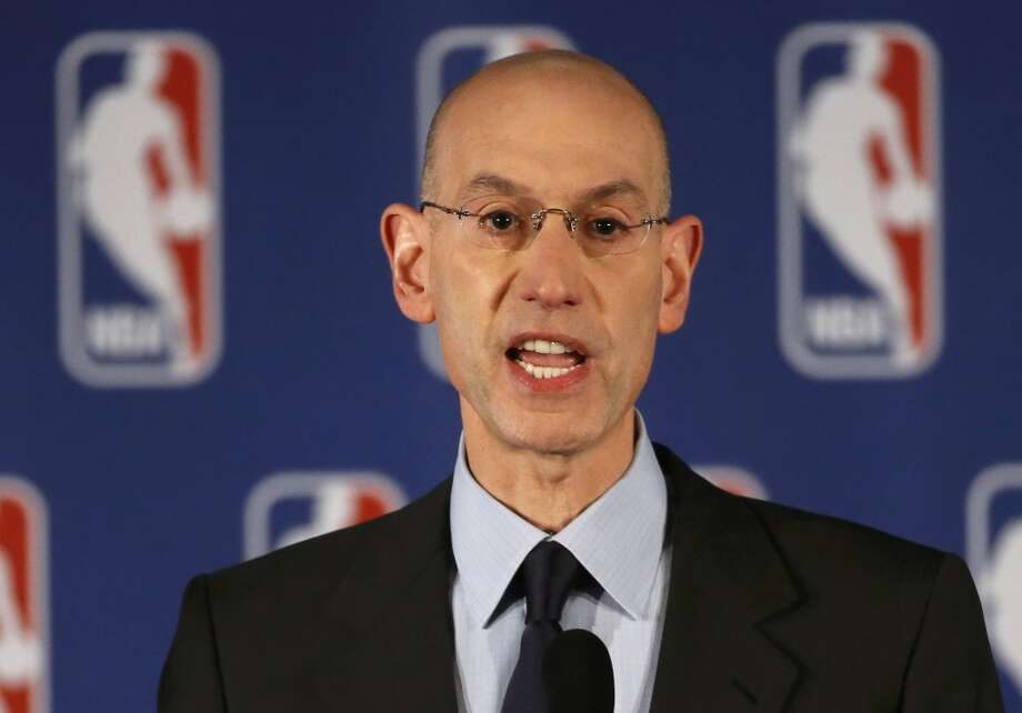 NBA Commissioner Adam Silver speaks at a news conference in New York April 29, 2014. The National Basketball Association was facing mounting pressure to impose a harsh punishment on Los Angeles Clippers owner Donald Sterling for his alleged racist comments that have sparked widespread outrage in the United States. Photo: MIKE SEGAR, Reuters