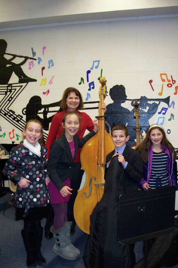 The Redding Elementary School String Quartet is performing at the Frog Frolic, a fundraising event in Redding for the Mark Twain Library. Photo: Contributed Photo / Connecticut Post Contributed