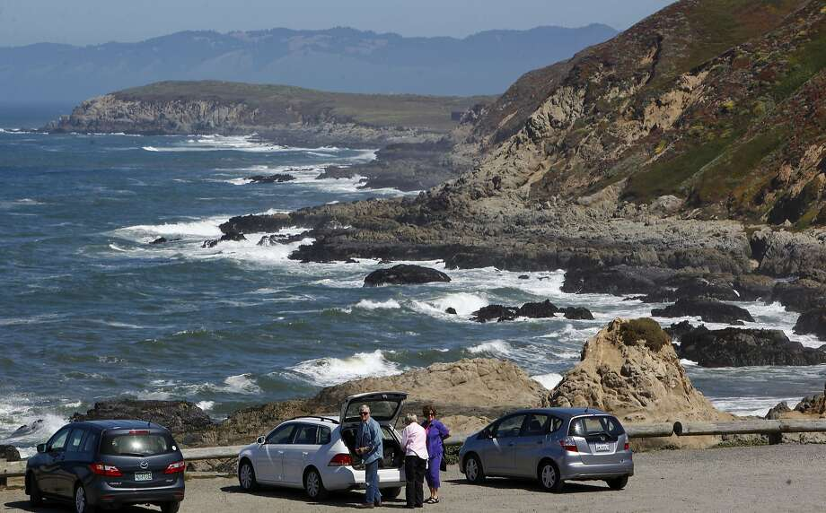 Visitors at Bodega Head State Park , on Friday June 14, 2013, in Bodega Bay, Calif., may soon see a parking fee during their visit along the Sonoma County coastline.The California state parks system is eyeing parking fees for parts of the Northern California shoreline where none have existed. Citing the need to raise money but their fee plan is facing resistance for state coastal regulators worried about eroding beach access and from environmentalists, who while sympathetic to state parks' plight say it's akin to monetizing the coast. Photo: Michael Macor, The Chronicle