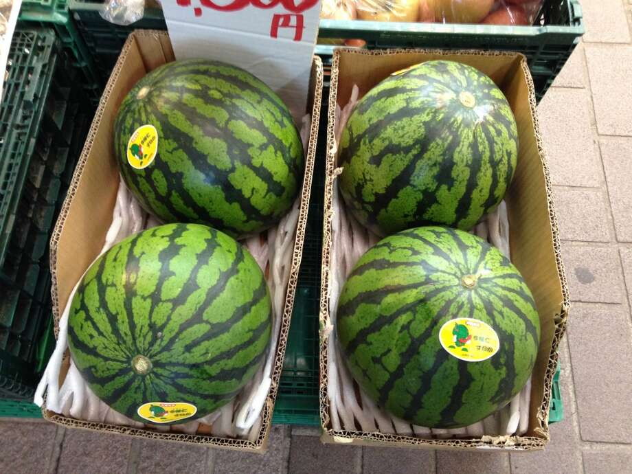 "Watermelons -- ""It looked truly gruesome from the helicopter view overhead."" Photo: Shioguchi, Getty Images"