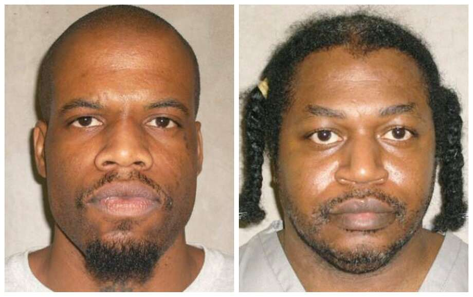 This file photo shows Oklahoma death row inmates Clayton Lockett, left, and Charles Warner. Photo: Uncredited, Associated Press