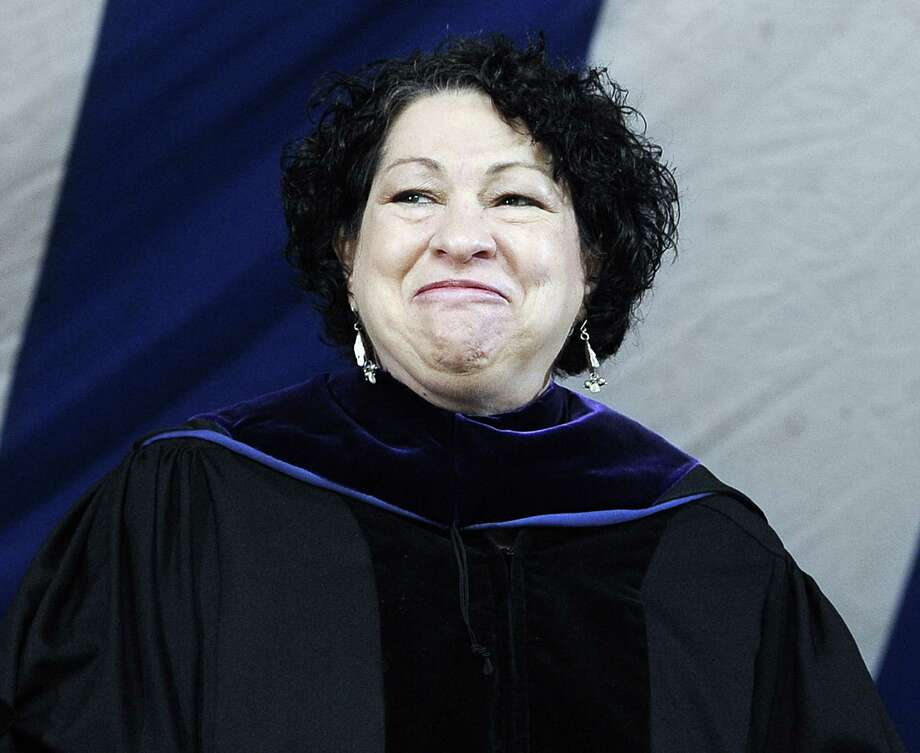 U.S. Supreme Court Justice Sonia Sotomayor's passionate dissent in a Michigan affirmative action case was misguided, according to columnist Rich Lowry. Photo: Jessica Hill / Associated Press / FR125654 AP