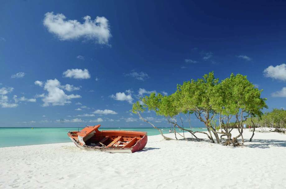 Cruise ships will take you from Galveston to beautiful beaches all over the Caribbean. Here are a few of the places you can get to.Aruba, Netherlands Antilles. Photo: Marquicio Pagola, Getty Images / © 2013 Picardo