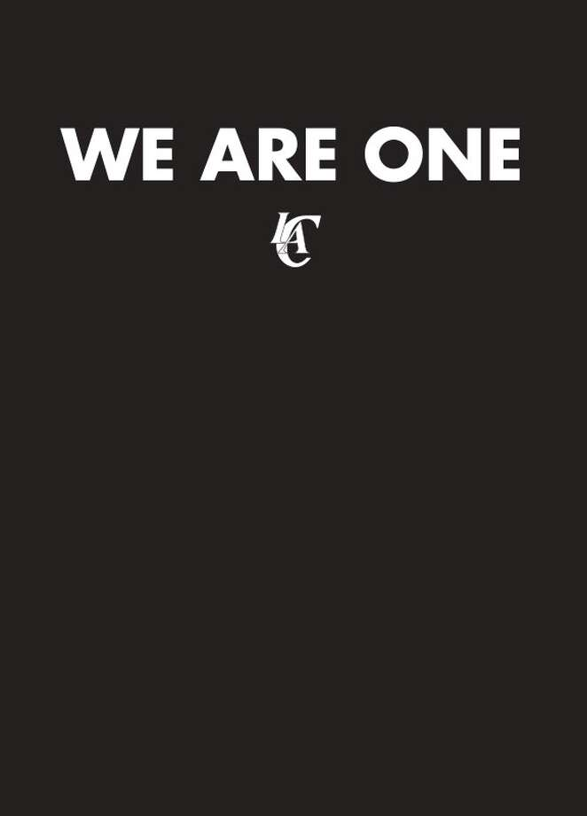 The Los Angeles Clippers website after the Tuesday's ruling. Photo: Clippers.com