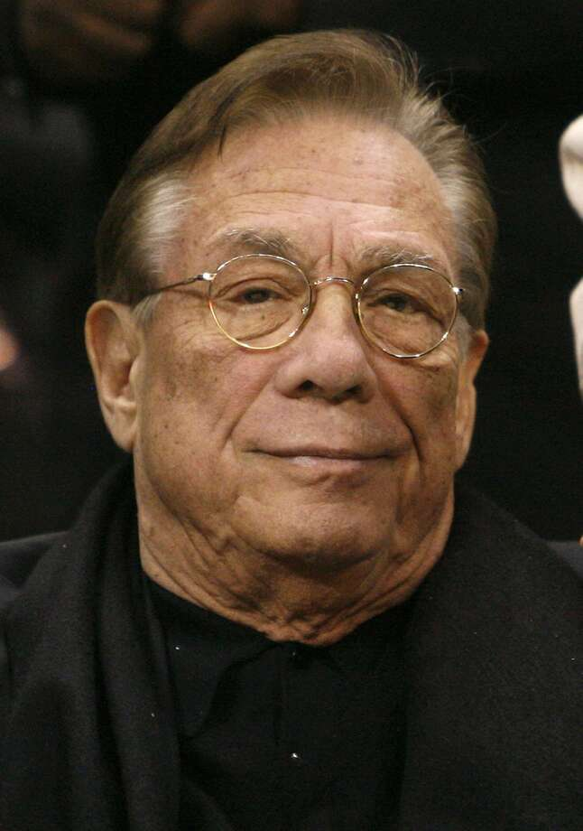 Los Angeles Clippers owner Donald Sterling attends the NBA basketball game between the Toronto Raptors and the Los Angeles Clippers at the Staples Center in Los Angeles in this December 22, 2008 file photo. The National Basketball Association banned Los Angeles Clippers owner Sterling from the game for life and fined him $2.5 million for racist comments made public over the weekend, the league's commissioner said on April 29, 2014   REUTERS/Danny Moloshok/Files (UNITED STATES - Tags: SPORT BASKETBALL HEADSHOT) Photo: Danny Moloshok, Reuters