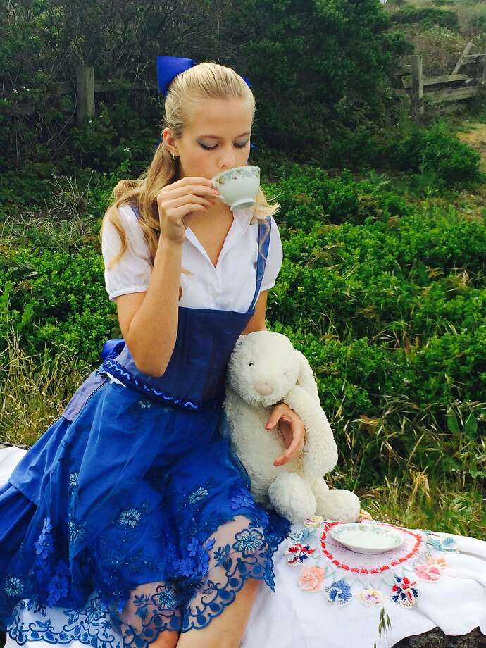 """Cody Putz stars in Coastal Theatre Conservatory's """"Alice in Wanderland,"""" a reimagining of Lewis Carroll's tale that explores the theme of real relationships in an app- and device-driven world. Through May 18 at Coastal Repertory Theatre, Half Moon Bay.  www.coastalrep.com."""