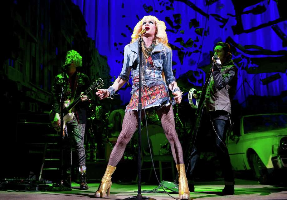 "FILE - This file image released by Boneau/Bryan-Brown shows Neil Patrick Harris in a scene from ""Hedwig and the Angry Inch,"" at the Belasco Theatre in New York. ""Hedwig and the Angry Inch,"" a cult off-Broadway hit, won eight Tony nominations on Tuesday, April 29, 2014. Photo: Joan Marcus, AP / Boneau/Bryan-Brown"