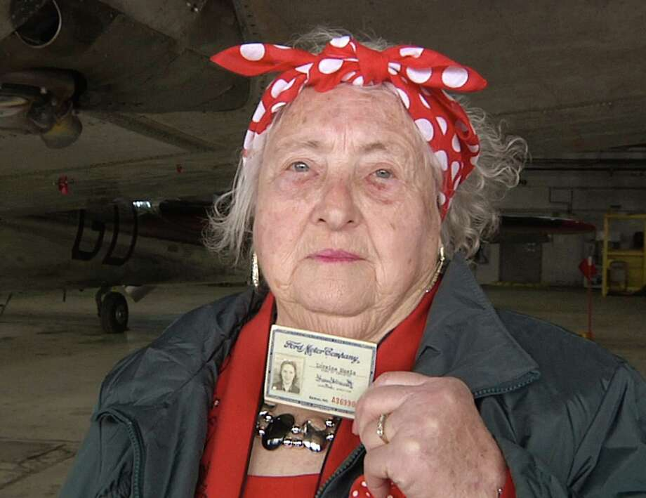 The Willow Run bomber plant, where Loraine Osborne worked as a Rosie the Riveter during World War II. needs $1 million to save it from destruction. Photo: Mike Householder, STF / AP