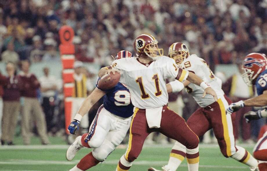 Pick No. 146 | 1986 | Washington RedskinsMark Rypien | Quarterback | Washington StateThe former Coug will never be confused with one of the great signal-callers to play the game, but in a league that values winning over all, his 45-27 record as a starter in Washington -- including his MVP performance in the 'Skins Super Bowl XXVI win over the Bills -- stands on its own. Photo: Doug Mills, Associated Press