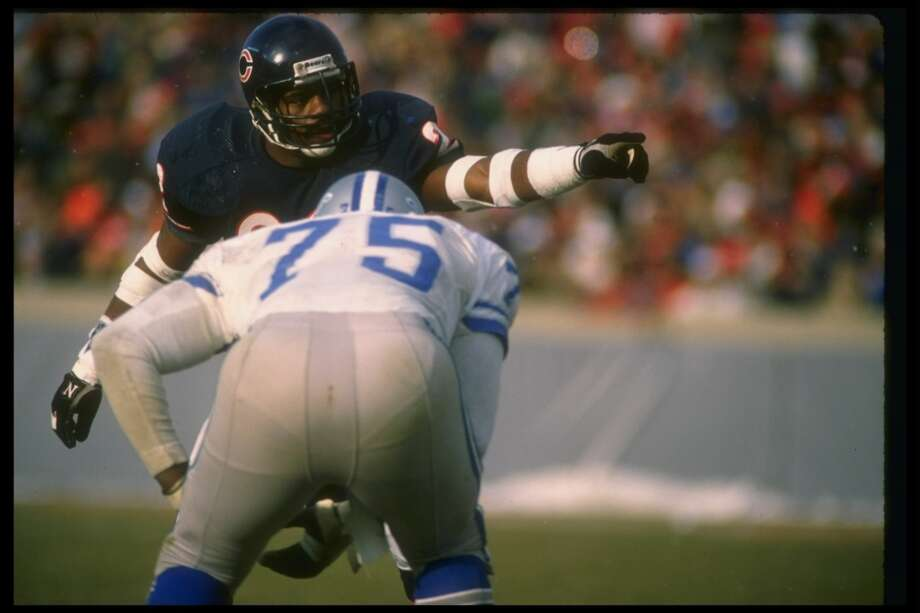 Pick No. 64   1983   Chicago BearsDave Duerson   Safety   Notre DameDuerson made four consecutive Pro Bowls and started on one of the most feared defenses of all time: the Super-Bowl-winning 1985 Bears. In 1986, the 6-foot-1, 207-pounder tallied 6 interceptions and 7 sacks, earning second-team AP All-Pro honors in the process. He died in 2011 after a struggle with brain injuries he attributed to repeated concussions from his playing days. Photo: Jonathan Daniel, Getty Images